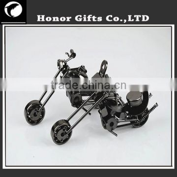 Retro Iron Motorcycle Ornaments For Home And Office Decor