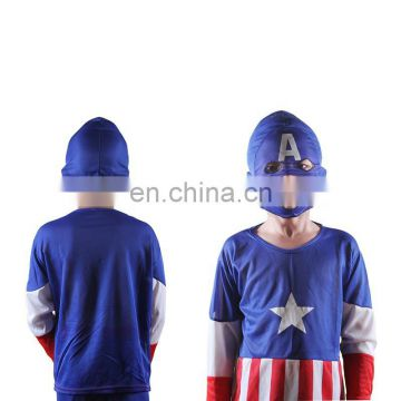 Children Age group and OEM service supply type American captain costume for Halloween