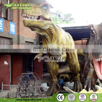 Life Size Moving Animatronic T-rex Dinosaur for Sale