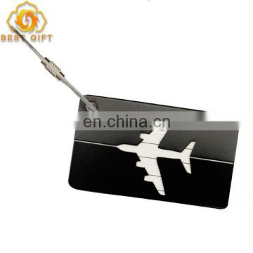 ID Suitcase Bag Labels Metal Aluminum Travel Luggage Tags