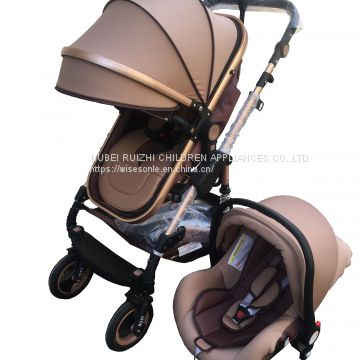 2018 Easy Folding Travel Pram Modern Carriage China Factory
