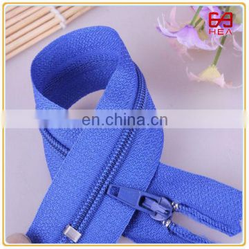 High quality 20cm #5 Eco-friendly Open end nylon zipper for sleeping bags