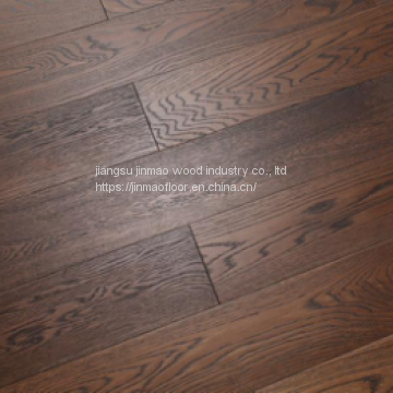 Solid Wood Floor Type Exported High Quality Multilayer Walnut Maple