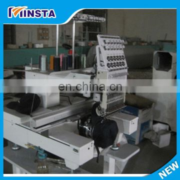 computerized cap embroidery machine/flat embroidery machine for sale