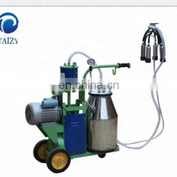 Vaccum Dairy Milk Plant Machinery for Cows Milking with Double Bucket