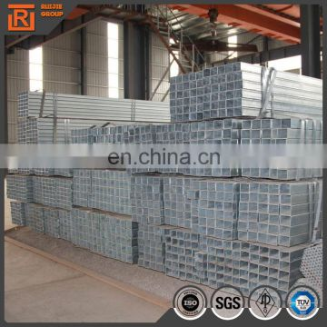 Small diameter galvanized rectangular steel pipe, en10219 square hollow section for fence post