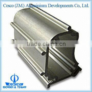 Aluminium extrusion profiles with anodizing