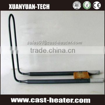 Furnace heating element made of MoSi2