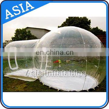 Clear bubble tree linflatable lawn tent for camping