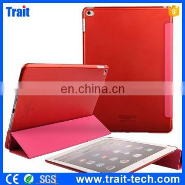 High Quality Factory Directly Case Smart Weak Sleep Leather Cover Case for iPad Air 2