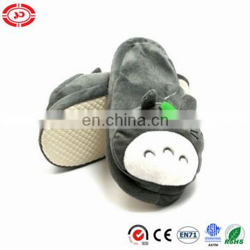 Totora plush anti-slip soft warm family shoe stuffed slippers
