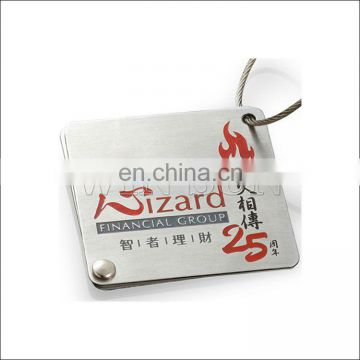 Custom famous brand luggage tags/travel luggage tags wholesales