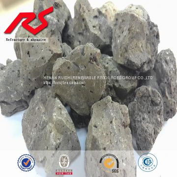 Metallurgical flux used Fused calcium aluminate Sintered calcium