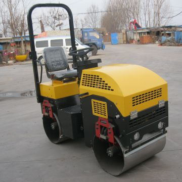 2t Double Smooth Drum Double Drum Road Roller