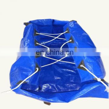 Exporting Japan Household Waterproof Blue Portable PE Bag
