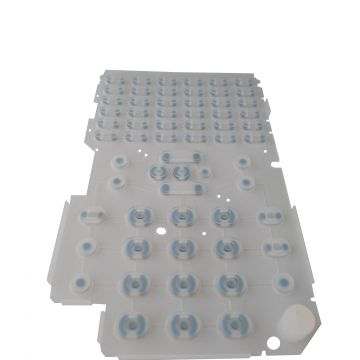 Numeric Keypad For Cellphone Silicone Rubber Keyboard