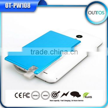 New items 2015 Ultra Thin credit card power supply portable power bank