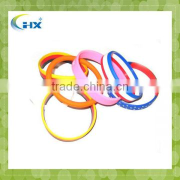 MA-459 2013 Charming Silicone Bracelets With Metal Wholesale