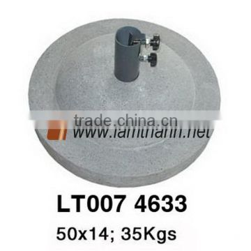 Vietnam Cement Manufacterer Lam Thanh's Grey Stone Umbrella Base