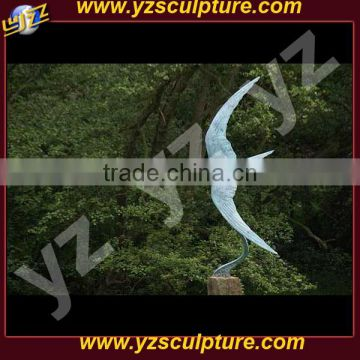 Garden marble animal statue of swallow