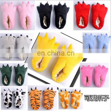 Dongguan Factory custom sport Style Plush Slippers Winter WarmShoes