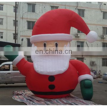 giant inflatable santa claus for christmas decoration