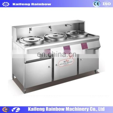 2018 small stainless steel Gas Noodles Boiler Pasta Cooker Machine with two or three boilers