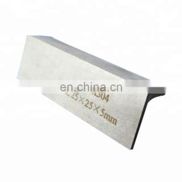 en1.4401 astm a479 316l 304 stainless steel angle bar
