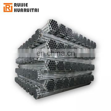 "4"" hot-dipped galvanized steel pipe, high strength steel erw pipe and tube"
