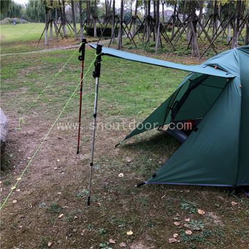 Lightweight Backpacking Tent, Two Man Tents Hiking, ZP044 Quick Setup 2 Person Camping Tent
