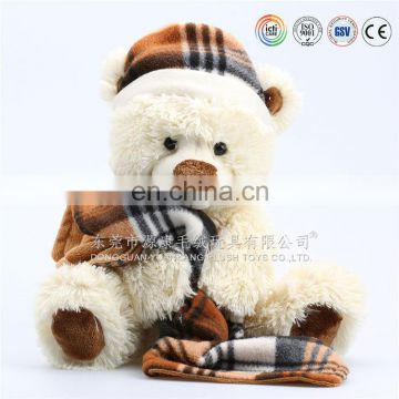 teddy bear plush for promotion Valentines soft toys