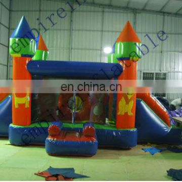 slide jumper, slide bouncer, cheap inflatables CC009
