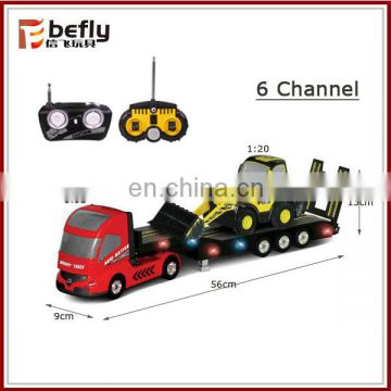 6 C-H radio control tow truck with light