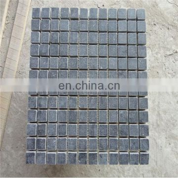 China black limestone mosiac tiles