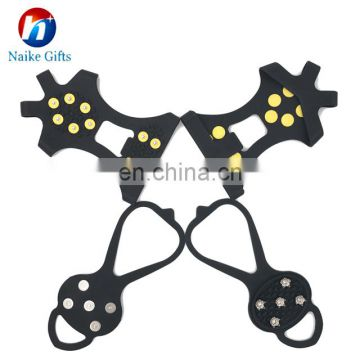 Ice Grips Anti Slip Silicone Snow Crampons for climbing