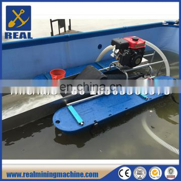 River water gold dredge gold and diomand mining machine