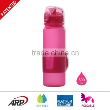 Promotional Silicone Sport Water Bottle
