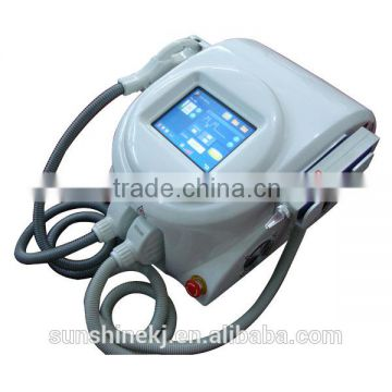 portable 2 in 1 ipl laser super penetration removal facial wrinkles