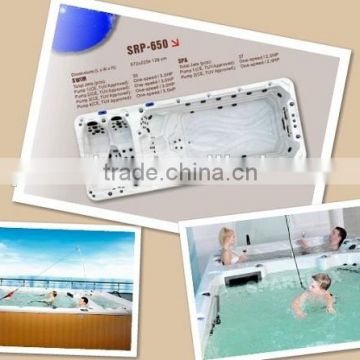 Luxury portable Swim Spa Pool Acrylic Material AMC-5860 with CE approval