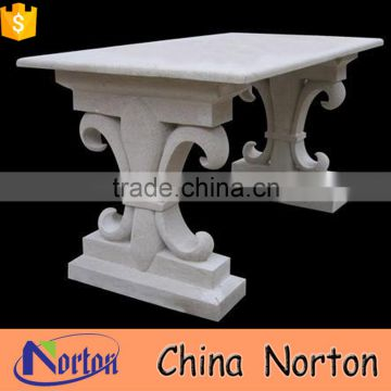 antique white marble table and chair designs NTS-B159X