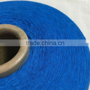 High quality recycled carded colorful cotton yarn for knitting machines 10nm/1