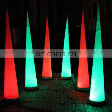 party inflatable led cone inflatable decoration cone for sale