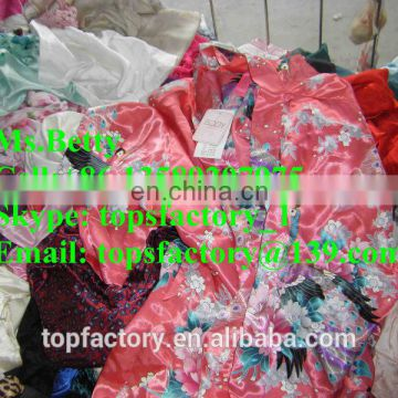 Silk used clothing wholesale used clothes for africa