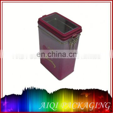 3.0 Litre cost effective printing metal tin can for cooking oil tin box for sale