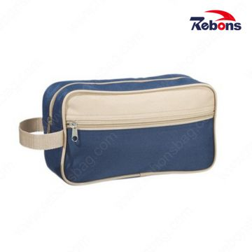 Designer Promotional Cheap 600d Polyester Man Travel Wash Toilet Bags