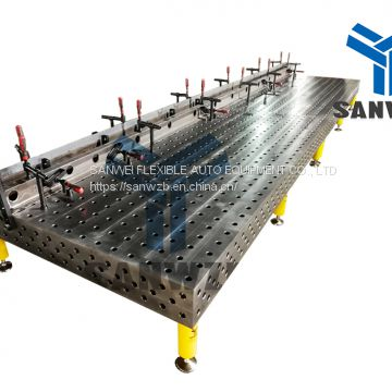 3D Welding Table Clamping System Fixtures/Jigs