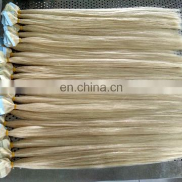 Cheap Indian remy human blonde hair extensions tape on and off