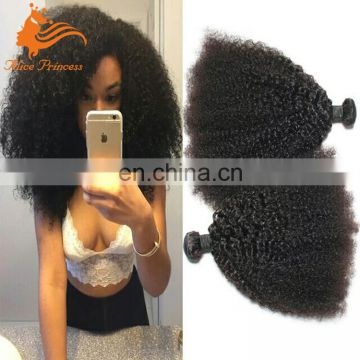 8A Grade Brazilian Hair Weaving Afro Kinky Curly Mink Brazilian Natural Hair Extensions Double Strong Weft Hot Afro Curly Style