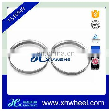 Colorful Alloy Wheel Spacers Hub Centric Spigot Rings 73.1mm OD to 63.4mm ID