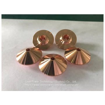 LasrPower factory outlet all sizes brass alloy laser cutting nozzle
